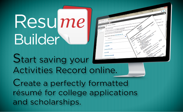 college admissions internships or scholarships your rsum has to be terrific